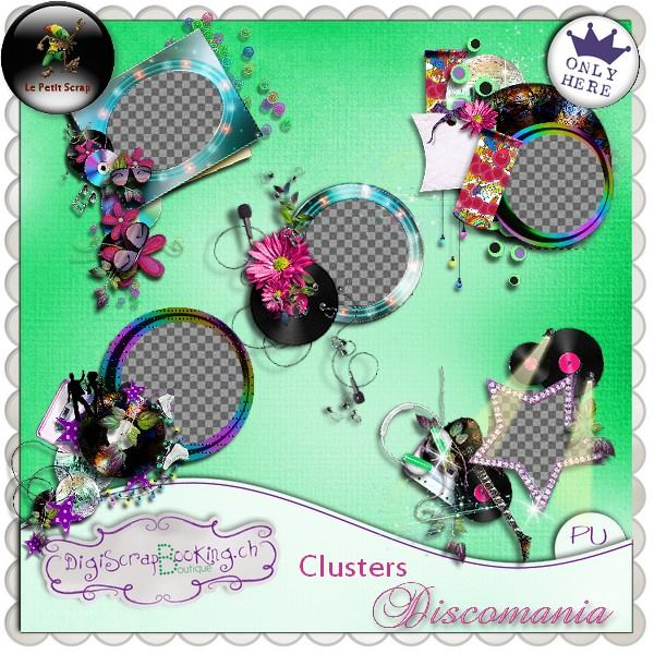 """ Discomania "" by Le petit scrap"