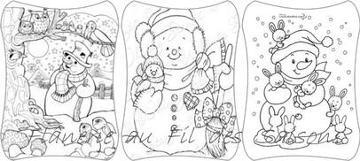Cartonnettes Zen coloriage !