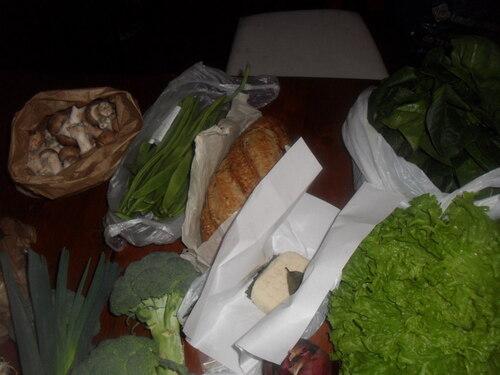 petit marché du dimanche 2/03/2013