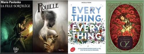 Bilan lecture + coups de cœur musicaux Mai 2019