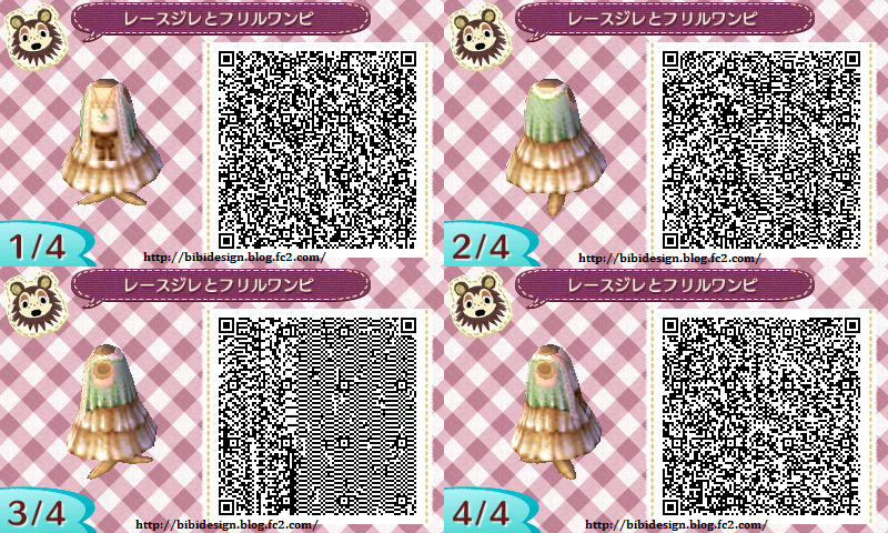 Exceptionnel Tenues & Vêtements | QR Code - One Animal Crossing HG13