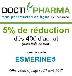 Doctipharma, mes pharmacies en ligne code promo
