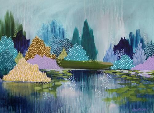 Clair Bremner et ses paysages contemporains
