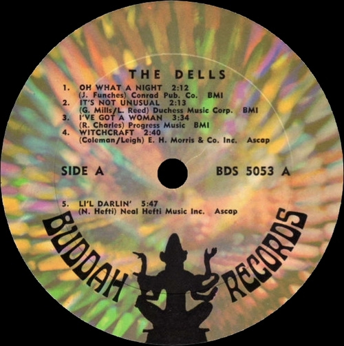 "The Dells : Album "" Oh What A Night Stay In My Corner "" Buddah Records BDS 5053 [ US ]"