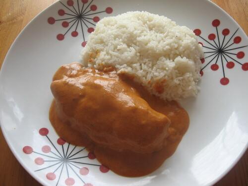 Curry de Poulet au Lait de Coco