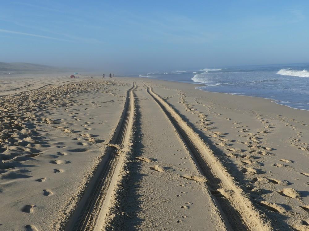 Quand la plage se fait belle...