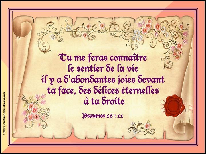 Ronde Versets du coeur 152