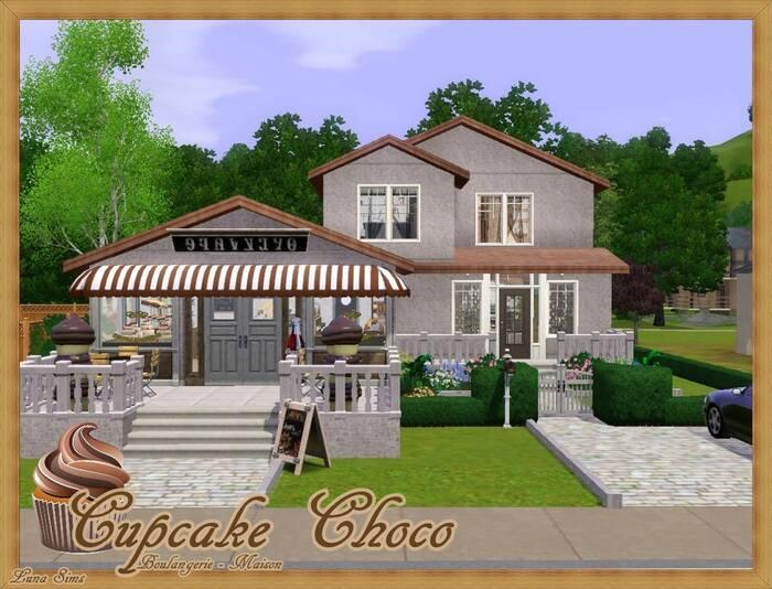 Cupcake Choco - Boulangerie Maison