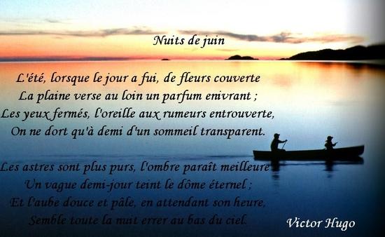 Poèmes De Victor Hugo Nuits De Juin Le Monde De La Philo