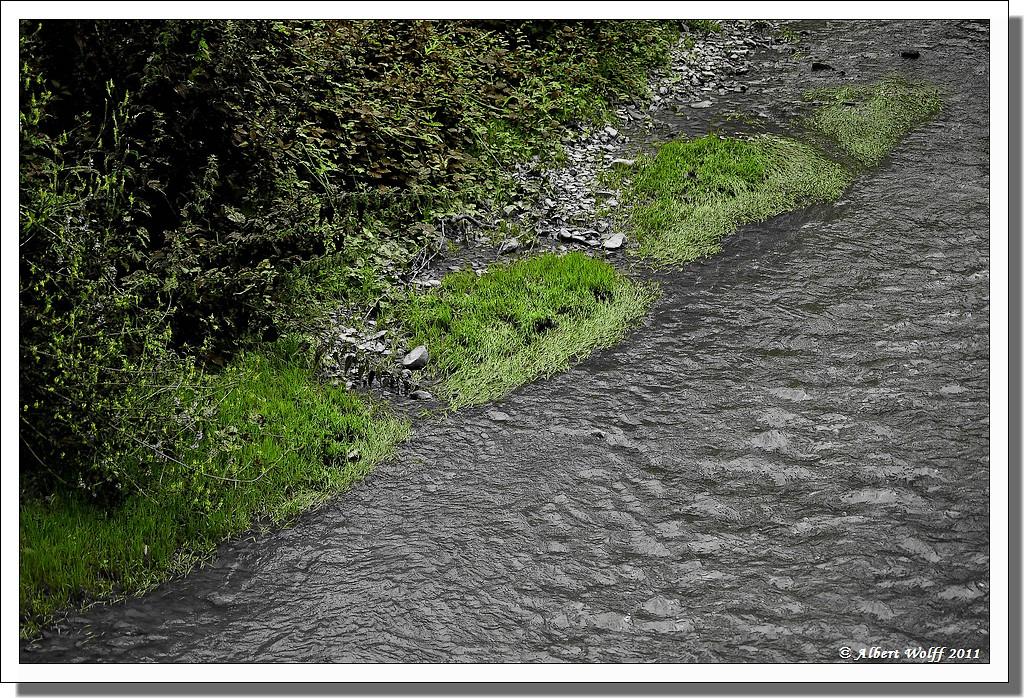 L'eau et la couleur