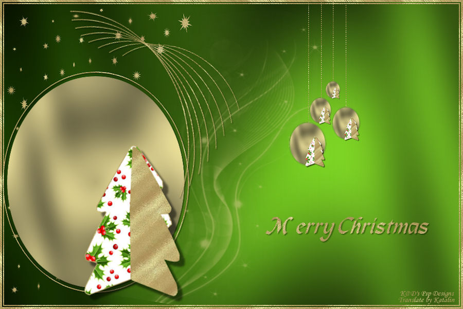 K@D's Psp Design ~ Merry Christmas
