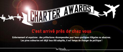 Charter Awards – C'est arrivé près de chez vous Chronique cimade63 du 10 juin 2016