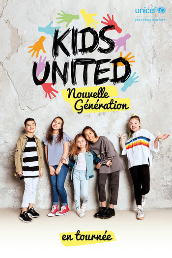 Concerts des Kids United