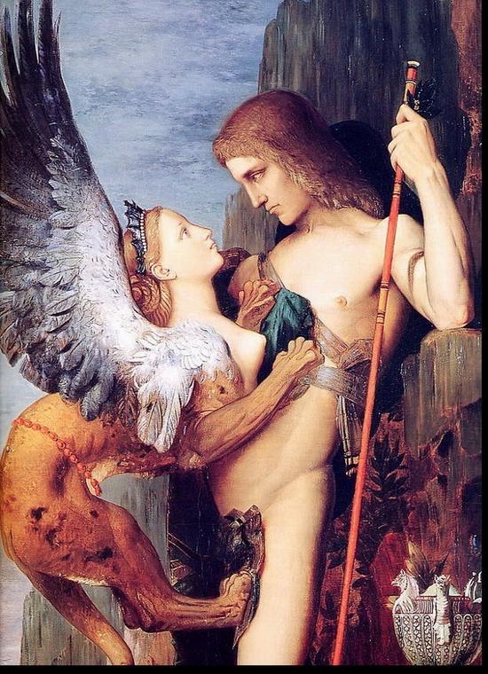 Gustave Moreau, Oedipus et le Sphinx