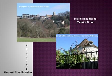 Guccio parcourt au galop la distance entre Neauphle-le-Château et Cressay