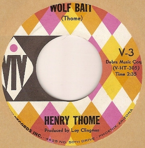 Henry Thome : Wolf Bait