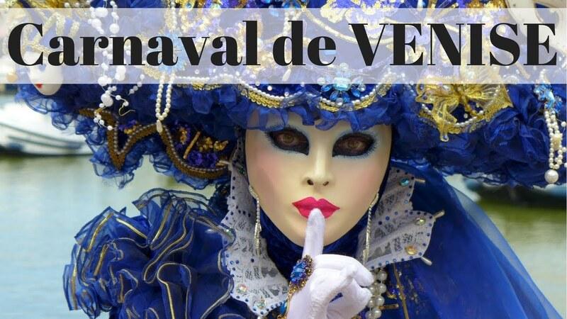 JE PARS DEMAIN........AU CARNAVAL DE VENISE