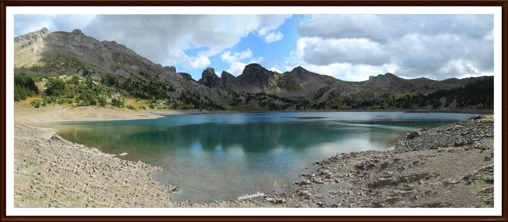 Lac d'Allos (parc du Mercantour)