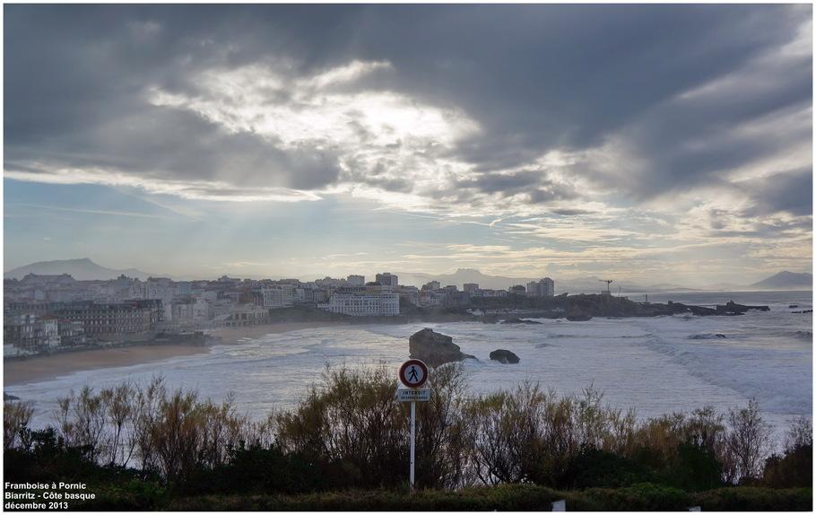 Pointe St Martin à Biarritz