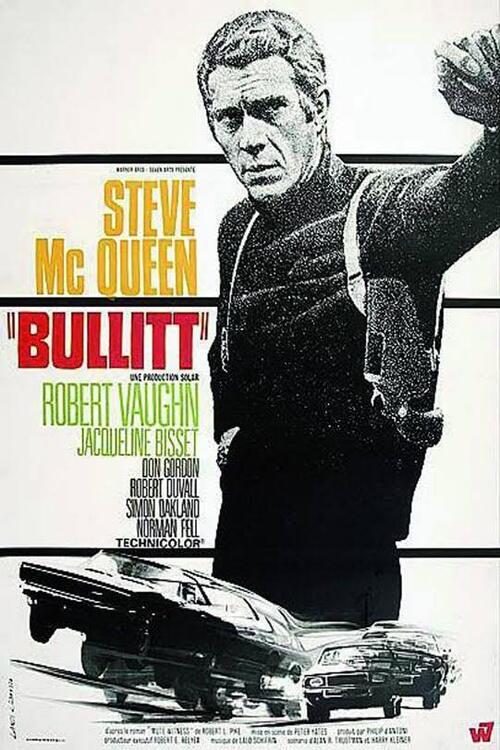 """Film """"Bullit"""" 1968."""