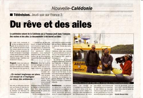 Janvier 2012 Les Nouvelles Calédoniennes - Actualités