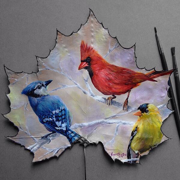 Peinture de : Janette Rose