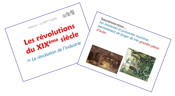 Les révolutions du XIXème siècle (diaporamas)