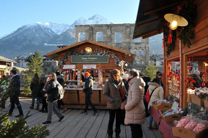 Aoste : au marché de Noël (#1)