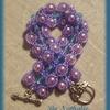 Bracelet turquoise violet