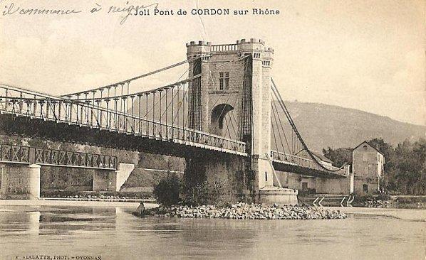 Pont de Cordon