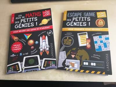 Enigmes et jeux de maths - des livres à avoir