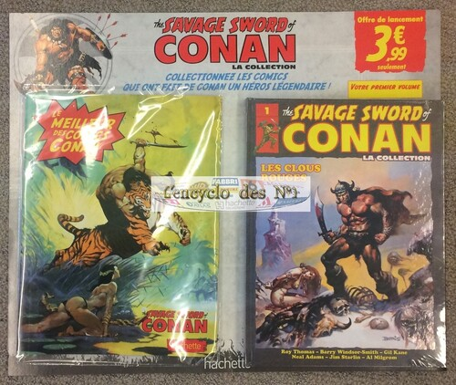"N° 1 La collection "" The savage word of Conan "" - Test"