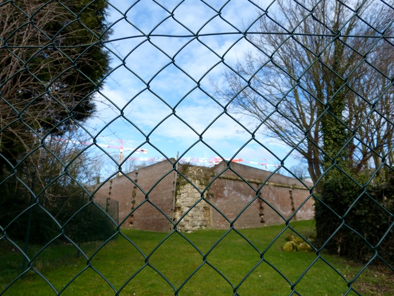La Citadelle d'Amiens en travaux