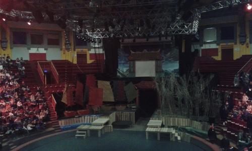 Spectacle au cirque