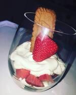 [ Recette 2 ] Verrines fraises/mascarpone