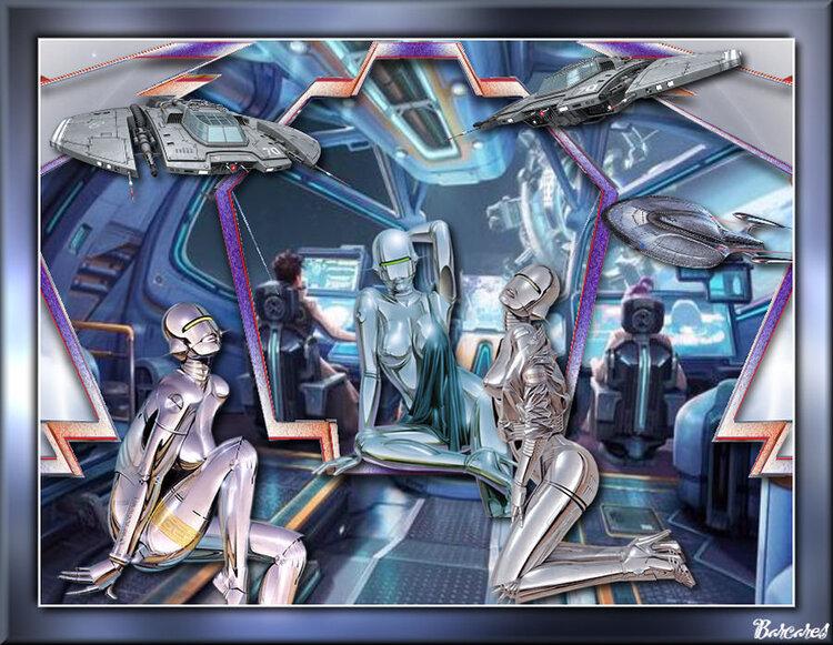 64. Version repos dans la navette spatiale
