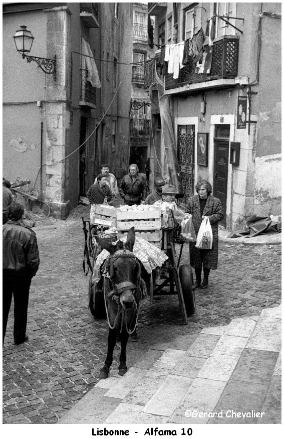 Lisbonne - Alfama.  (10 Photos)