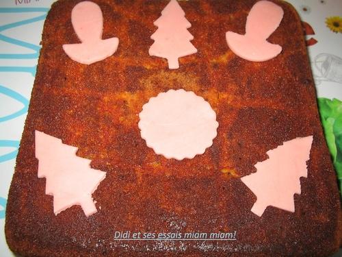 Gâteau yaourt chocolat et au sirop de papaye