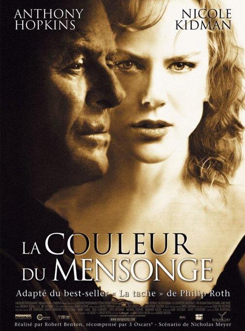 LA COULEUR DU MENSONGE BOX OFFICE FRANCE 2003