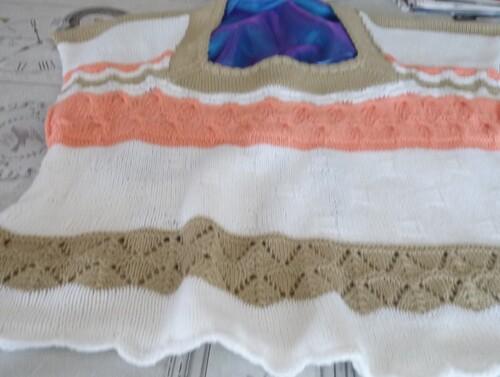 L'avancée de mon pull 3 coloris