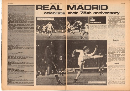 MCA à Madrid en 1977