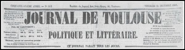 - L'Epi d'Or attribuée en 1860....au graulhétois Pierre PERRY