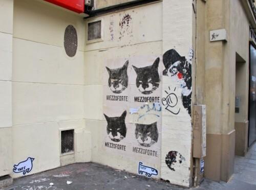 street-art papier Beaubourg THTF Mezzoforte Mimi 12
