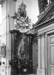 Eglise Saint-Nicolas, Mons ,autel latéral, autel à retable