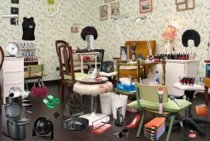 Beauty salon - Hidden objects