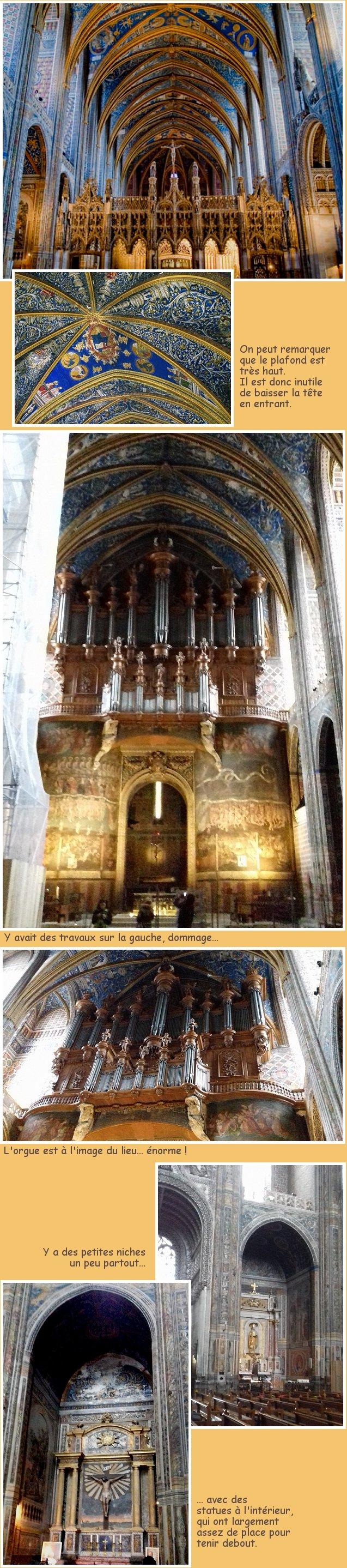 Sainte Cécile à Albi (suite)