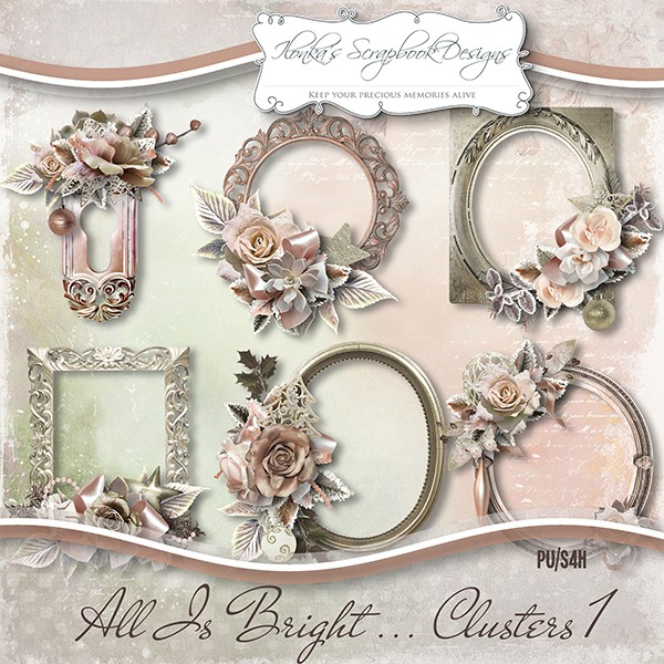 """All Is Bright"" by Ilonka's Scrapbook Designs"