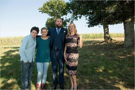La Famille Bélier : Photo François Damiens, Karin Viard, Louane Emera, Luca Gelberg