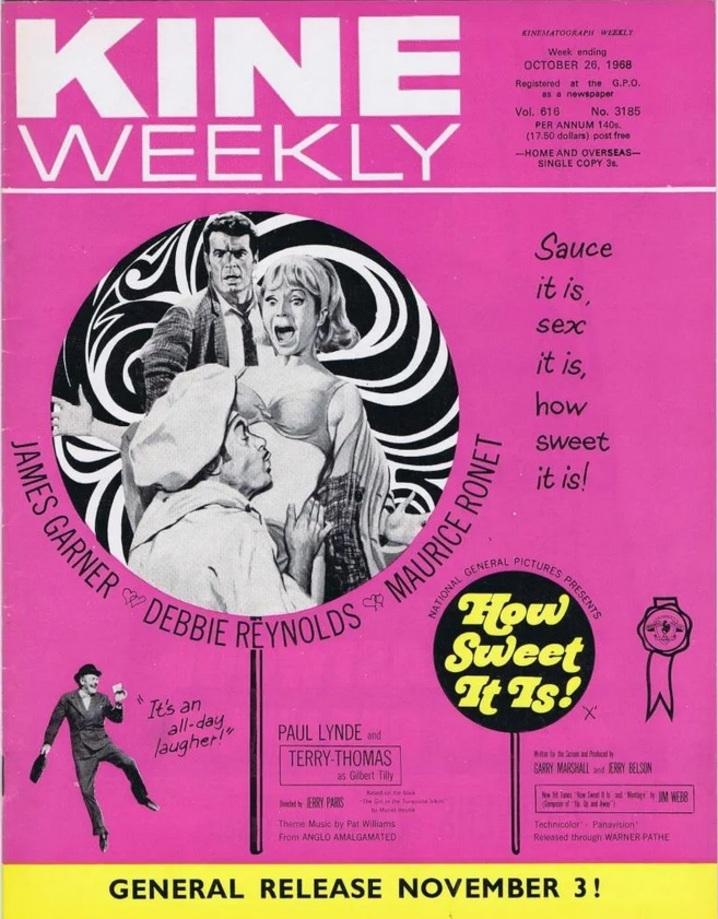 BOX OFFICE USA DU 9 JUILLET 1968 AU 15 JUILLET 1968
