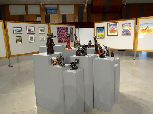 Le salon d'automne 2013 des  Amis des Arts de  Montbard